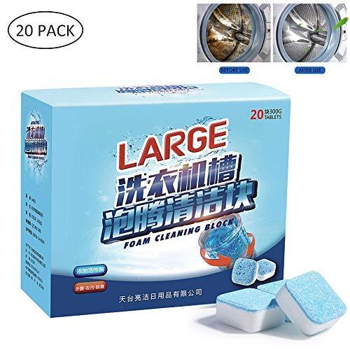 FOONEE Tableta de Limpieza para Lavadora, Desodorante de ...