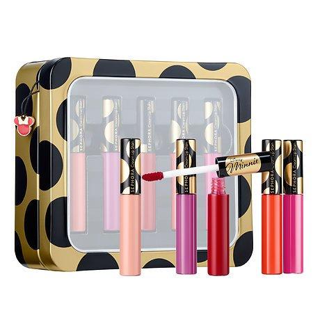 SEPHORA COLLECTION Disney Minnie Beauty: Minnie-ature Cream Lip Stain Set