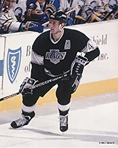 Rob Blake Los Angeles Kings Unsigned Hockey Photo