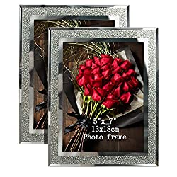 Sparkle Glass Photo Frame for Tabletop