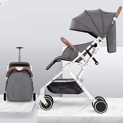Ultraligera Compacto Cochecito de bebe, Infantil Cómoda ...