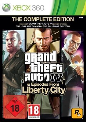 Grand Theft Auto IV Complete Edition - Microsoft Xbox 360: Amazon ...