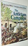 Front cover for the book The Antietam Campaign by John Cannan