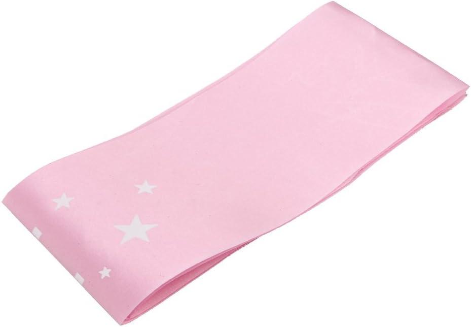 Globeagle /Écharpe rose pour anniversaire de fille avec ruban