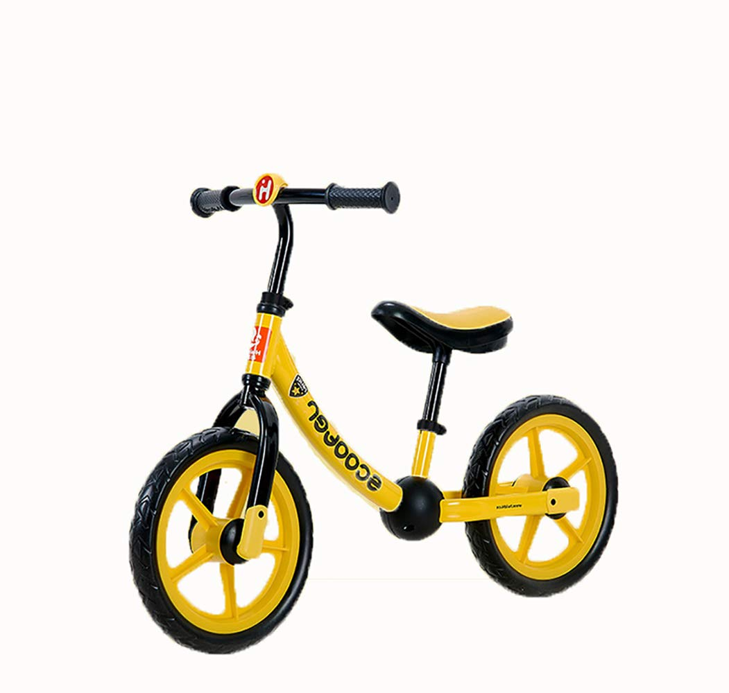 LLCP Balance car, baby pedalless bicycle 12 inch EVA elastic tires Suitable for toys over 2 years old