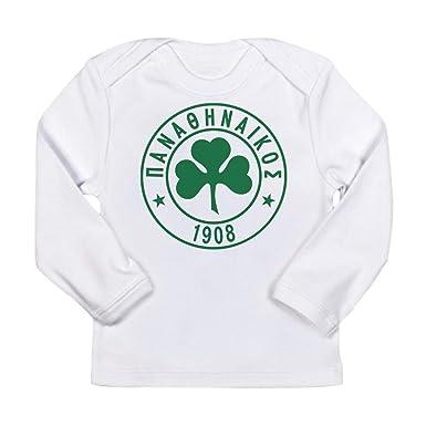 e444b254d CafePress Panathinaikos Long Sleeve Infant T Shirt Long Sleeve Infant T- Shirt Cloud White