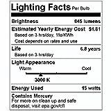 GE 10147 - F15T8/WW Straight T8 Fluorescent Tube
