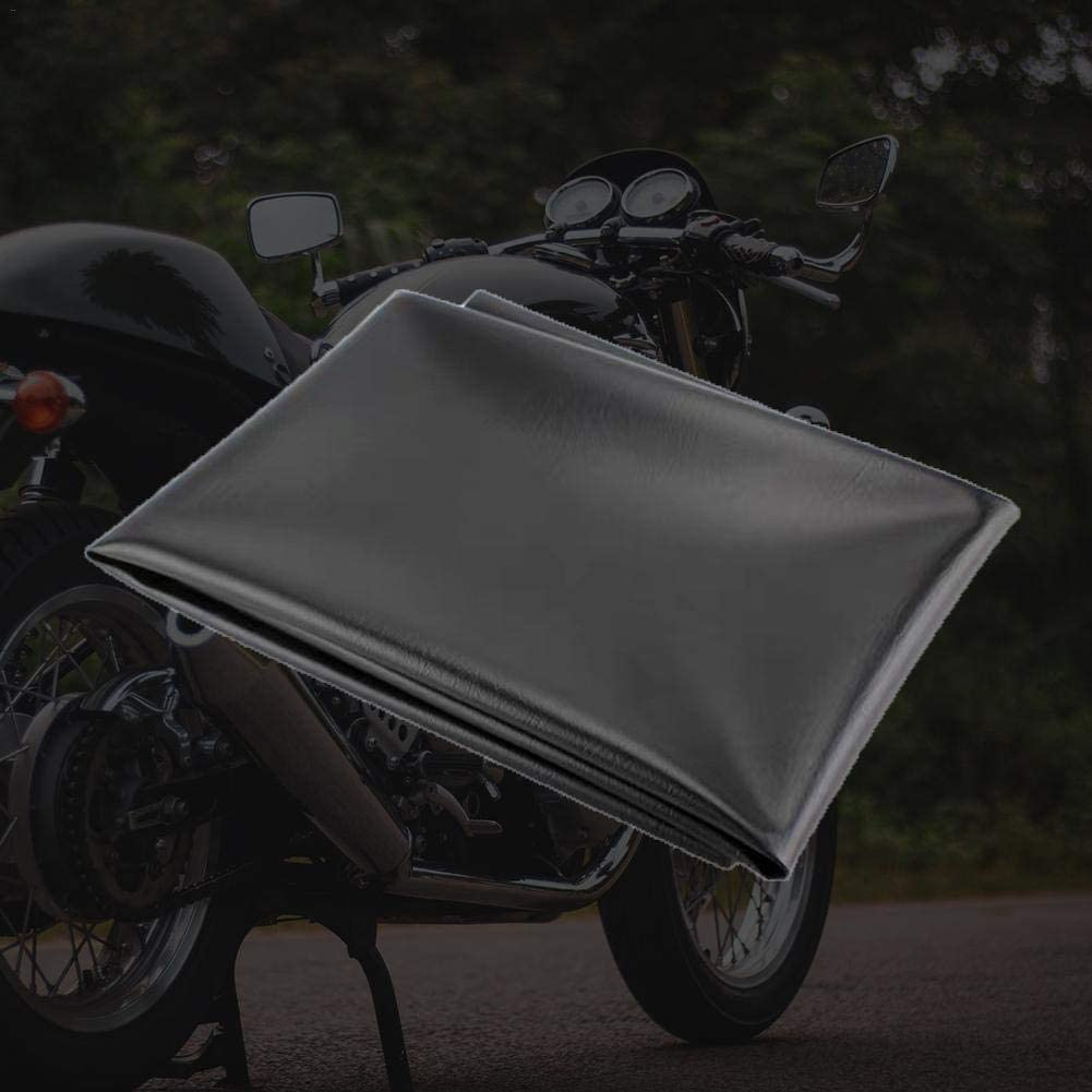 Housse de Selle Moto Tourtecs Antid/érapante Universelle Gris