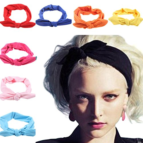 lanzom-8-pieces-women-fashion-elastic-hair-band-turban-head-band-hair-accessories-style-a