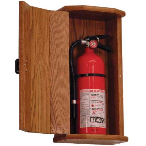 Abc Detailing Home: Wooden Mallet FEC10 5 Lb. Fire Extinguisher Cabinet In