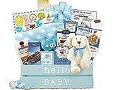 Welcome Home Baby Boy Newborn Gift Basket