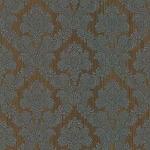 BHF 987–56551Monalisa damasco tela papel pintado, color beige