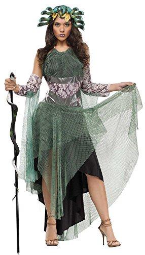 Costumes Goddesses Mythology Greek Gods Of And (Medusa Adult Costume - Greek Mythology)