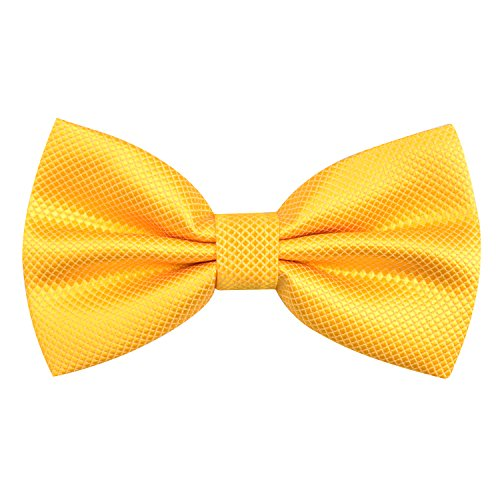 yellow bow ties - 2