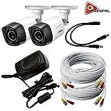 Q-See 720p HD Weatherproof Bullet Camera 2-Pack