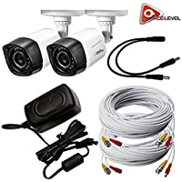 Q-See 720p HD Weatherproof Bullet Camera 2-Pack