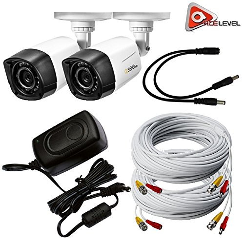 Q-See 720p HD Weatherproof Bullet Camera 2-Pack ()