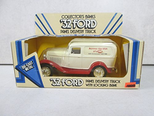 Ertl '32 Ford Panel Delivery Truck with Locking Bank Across the USA it's IGA 60th Anniversary 1926-1986