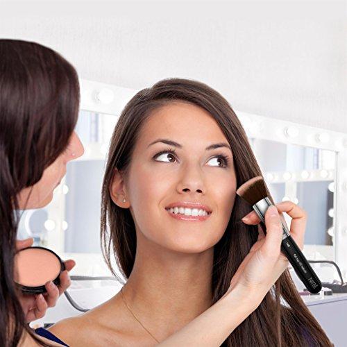 Niré Beauty Artistry Makeup brush set in Silver & Black ...