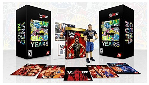 WWE 2K18 CENA (NUFF) EDITION- PS4