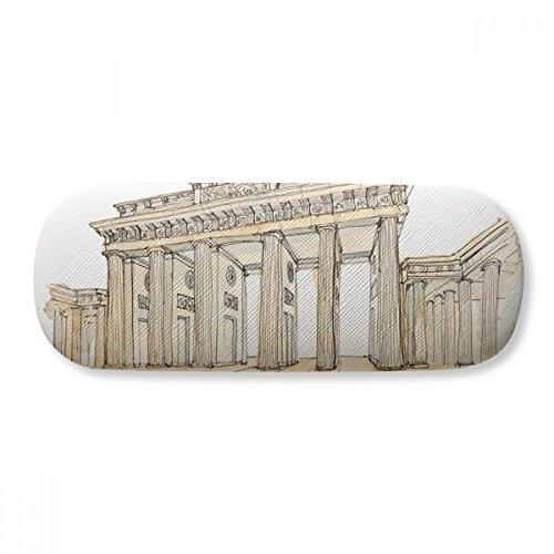 Brandenburg Door in Eastern Germany Glasses Case Eyeglasses Clam Shell Holder Storage Box by DIYthinker