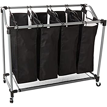 Amazon Com Honey Can Do Quad Laundry Sorter With Mesh