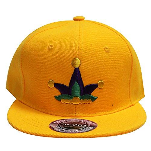 Cf918 Mardi Gras Exclusive Jester Hat Snapback Cap - Exclusive Caps Snapback