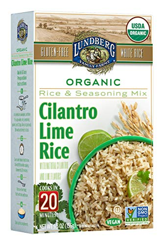 (Lundberg Cilantro Lime Rice Entree, 5.5 Ounce (Pack of 6), Organic)