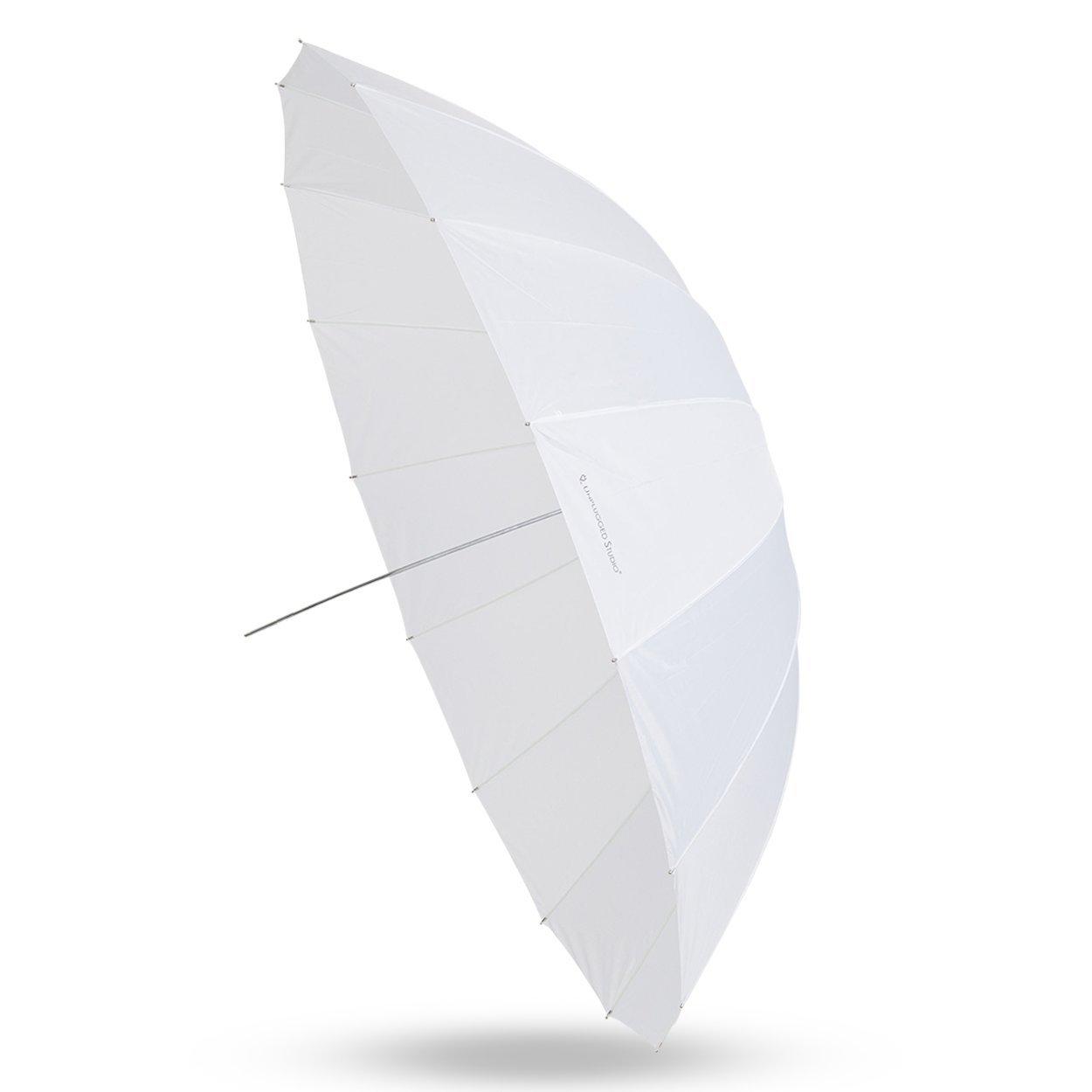 UNPLUGGED STUDIO 70inch Translucent Umbrella (16 Fiberglass Ribs) by UNPLUGGED STUDIO (Image #1)