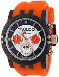 MULCO Unisex MW3-11169-305 Lincoln Illusion Chronograph Analog Swiss Movement Watch