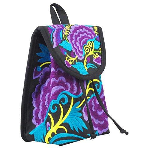 Partiss - Bolso mochila  para mujer 6