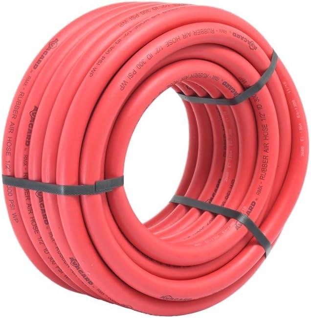 100/% Rubber - AVG1425KIT 1//4 x 25 13pc Kit RMX Avagard Premium Rubber Air Hose 20/% Lighter