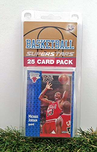 (Chicago Bulls- (25) Card Pack NBA Basketball Different Bulls Superstars Starter Kit! Comes in Souvenir Case! Great Mix of Modern & Vintage Players for the Ultimate Bulls Fan! By 3bros)