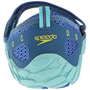Speedo Women's Offshore Strap Athletic Water Shoe, Blue, 9 C/D US