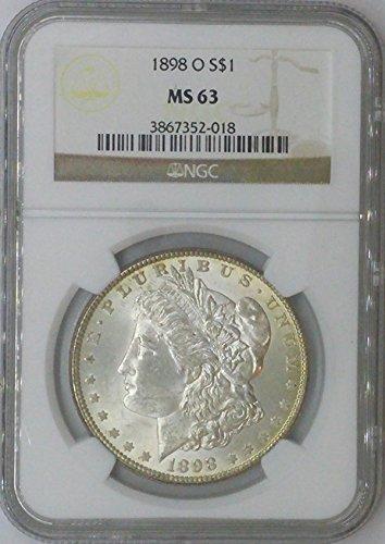1898 O Morgan $1 MS64 NGC MS