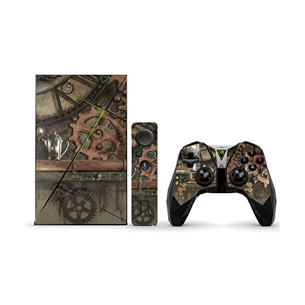 MightySkins Skin Compatible with NVIDIA Shield TV (2017) wrap Cover Sticker Skins Steam Punk Room 3