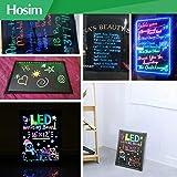 LED Writing Message Board, Illuminated Erasable
