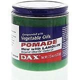 DAX Pommade enrichie en huile de bergamote, d'olive et de ricin - Pour cheveux secs et cassants - 222 ml