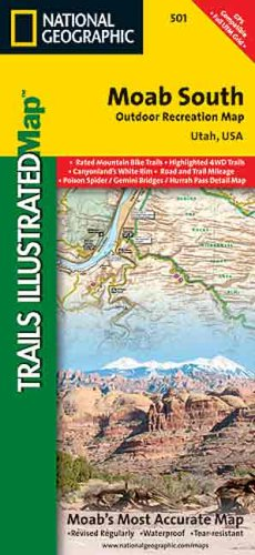 Map 501.Amazon Com Moab South 501 National Geographic Sports