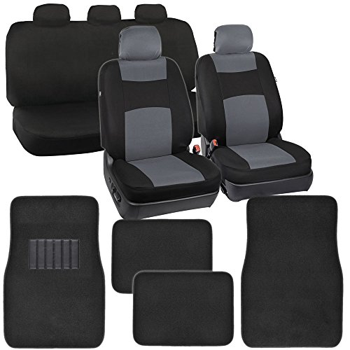 black 5 passenger seat cover - 9
