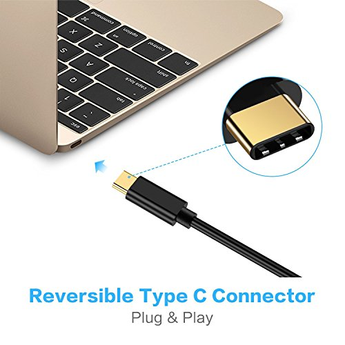 USB C to HDMI Cable 4K Adapter,SOWTECH Upgrade USB 3.1 Type-C to HDMI Adapter Compatible with MacBook Pro,HDMI to USB C Adapter