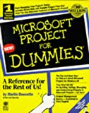 Microsoft Project for Windows 95 for Dummies, Martin Douchette and Dummies Technical Press Staff, 0764500848