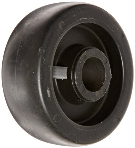 shepherd-618775-regent-monarch-5-diameter-x-2-width-polyolefin-wheel-650-lbs-capacity-black
