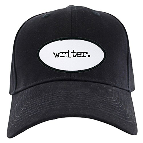 CafePress - Writer. Black Cap - Baseball Hat, Novelty Black Cap