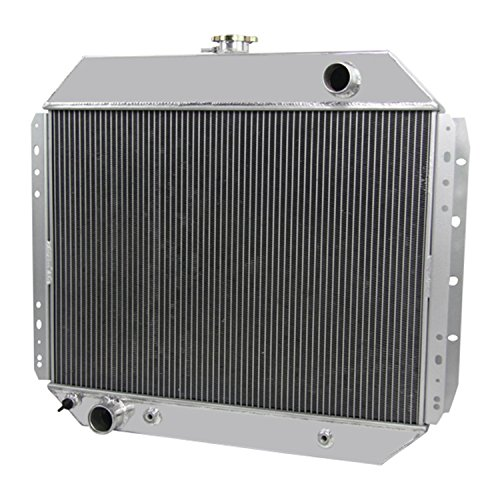 (CoolingCare 52MM 3 Row Aluminum Radiator for Ford F150 F250 F350 Trucks 1966-79 /Bronco 78-79)