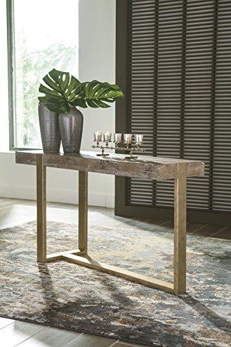 WE Furniture AZ48PCSBGW Open-Top Storage Bench, Gray Wash