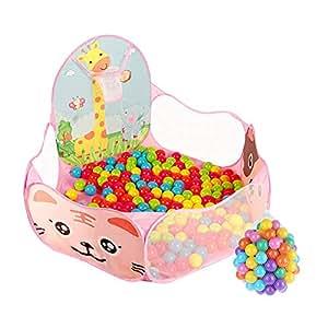 6129a957e Hogar Plegable Baby Fence Baby Playpen Tienda para Niños Juguetes para  Interiores Casa Baby Ball Pool
