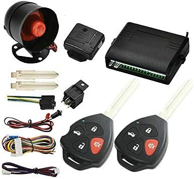 Avital 3100LX Security Car Alarm Keyless w// 4 Car Power Door Lock Actuator Motor