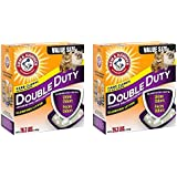 Arm & Hammer gbkJlN Double Duty Clumping Litter, 26.3 Pounds (Pack of 2)
