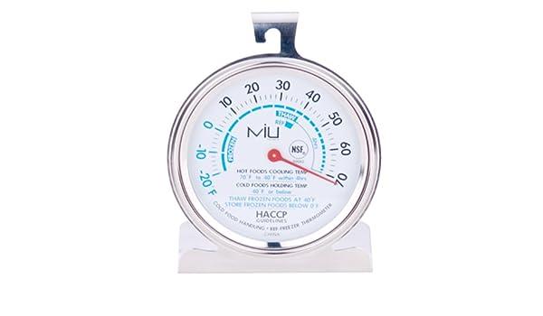 MIU Francia 90062 NSF Congelador Comercial Thermometer3 pulgadas ...
